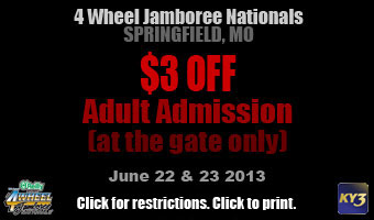 4Wheel Jamboree Coupon
