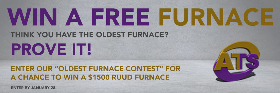 ATS Heating & Cooling Oldest Furnace Contest