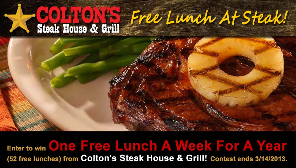 Colton's Steakhouse Free Lunch at Steak Contest