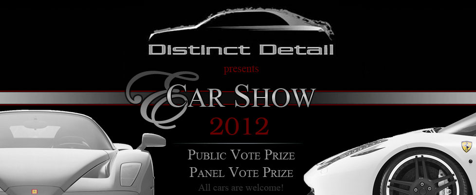 Enter to win the 2012 Distinct Detail E-Car Show