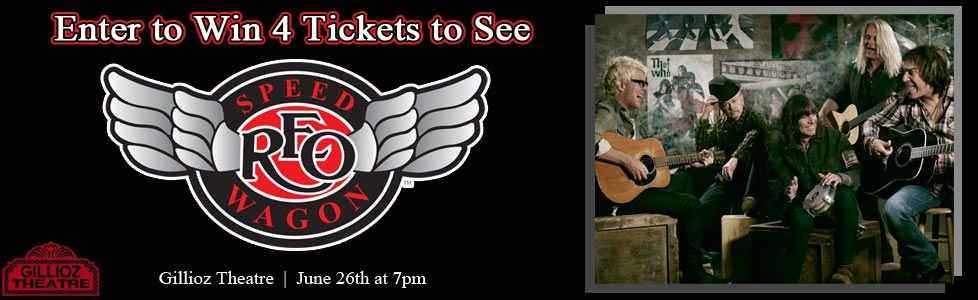 REO Speedwagon Ticket Contest