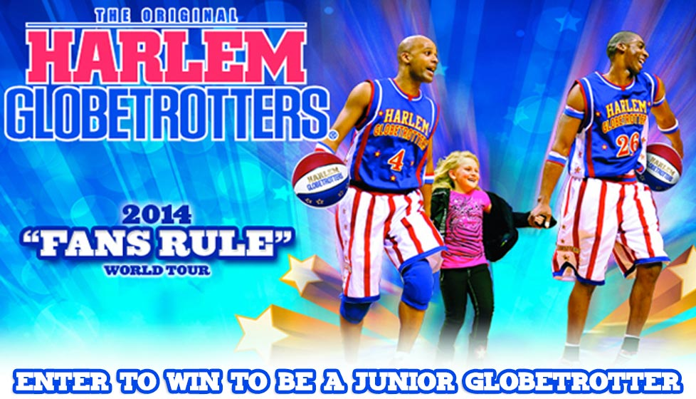 KSPR Harlem Globetrotters Ball Kid Contest