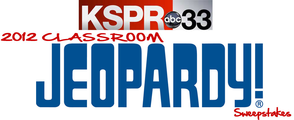 2012 Classroom Jeopardy Sweepstakes