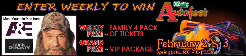 O'Reilly Autofest Ticket Giveaway