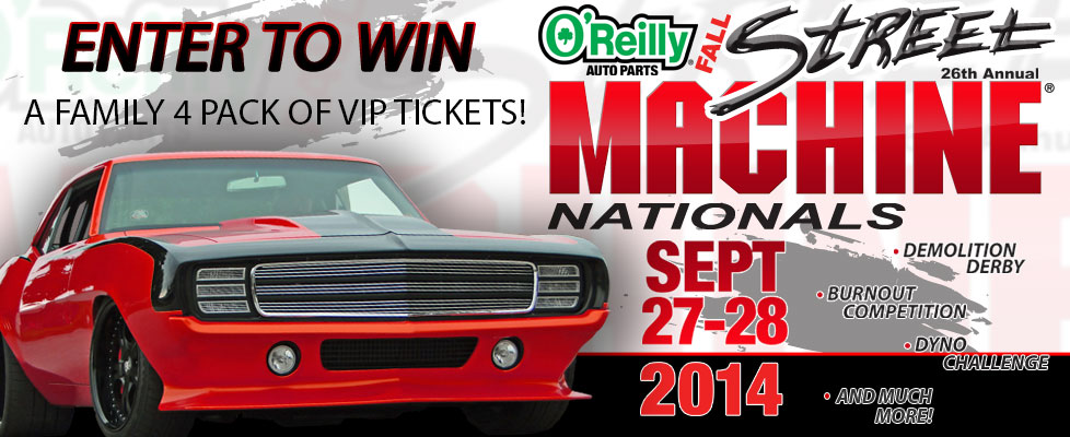 O'Reilly Street Machine Nationals Ticket Giveaway