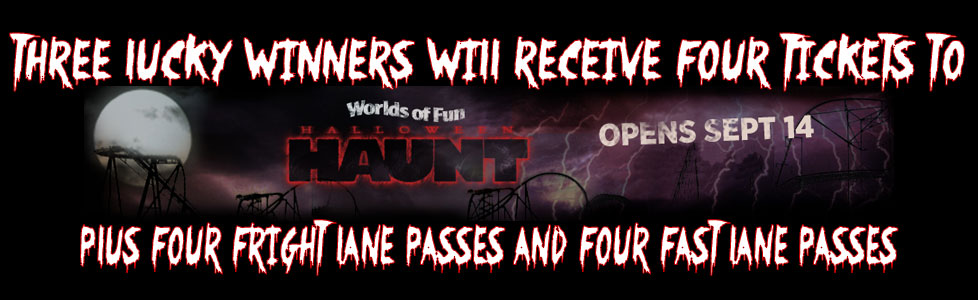 Worlds of Fun Haunt Giveaway - The Midwest's Largest Halloween event