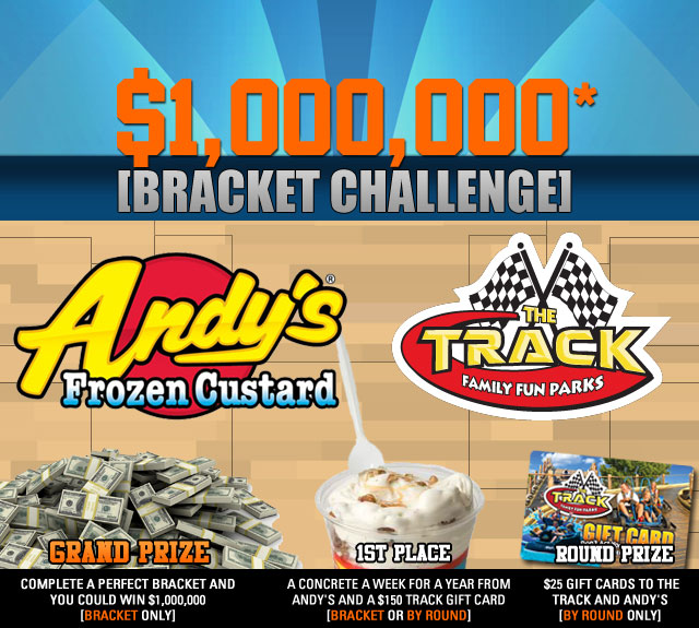 Andy's Frozen Custard and The Track Bracket Challenge