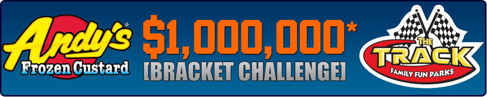 Andy's Frozen Custard and The Track $1,000,000 Bracket Challenge